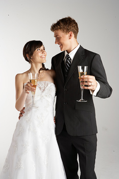 Q: A recent British survey of married couples finds that one-third of women were secretly disappointed by this?