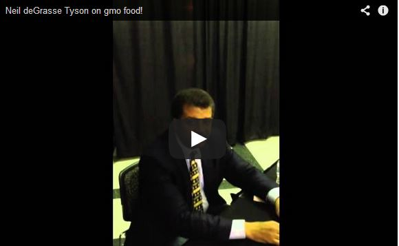 """Neil deGrasse Tyson to GMO Haters, """"Chill Out!"""""""